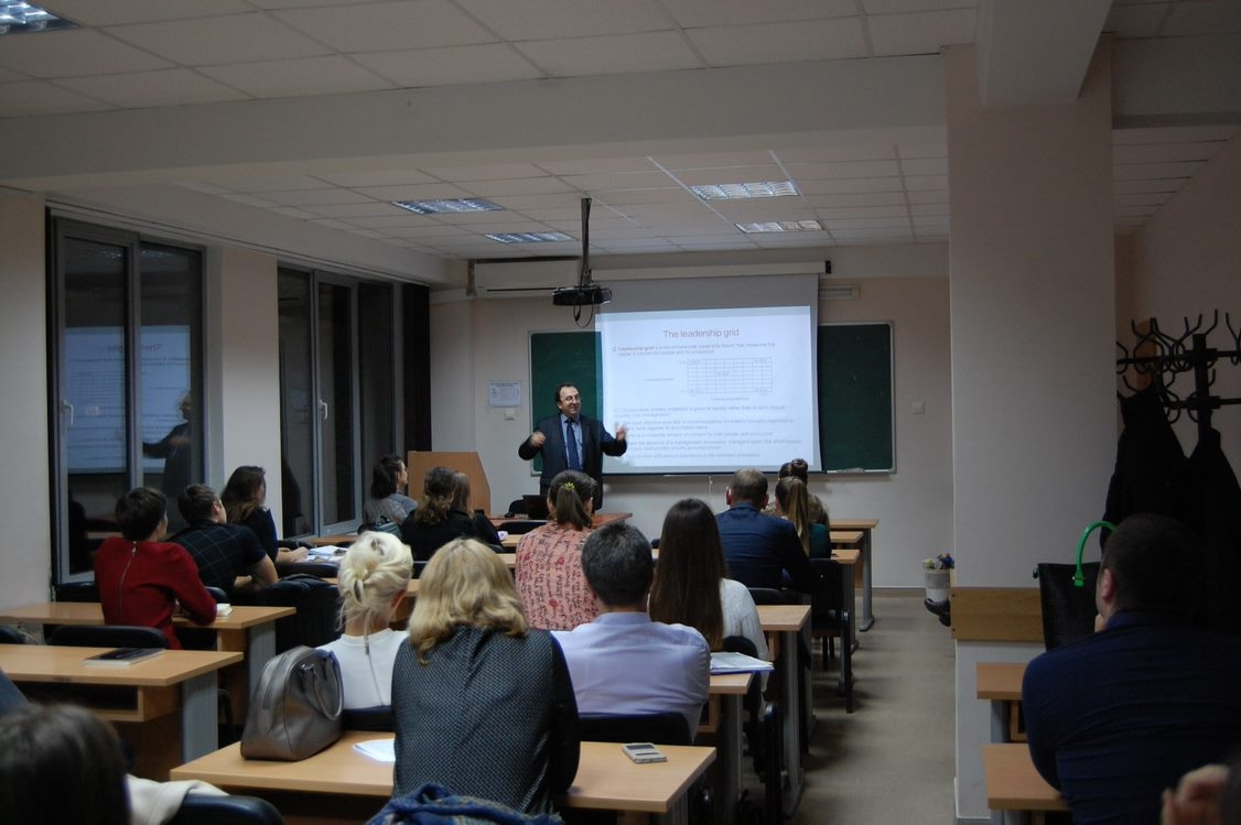 Teaching in Chisinau