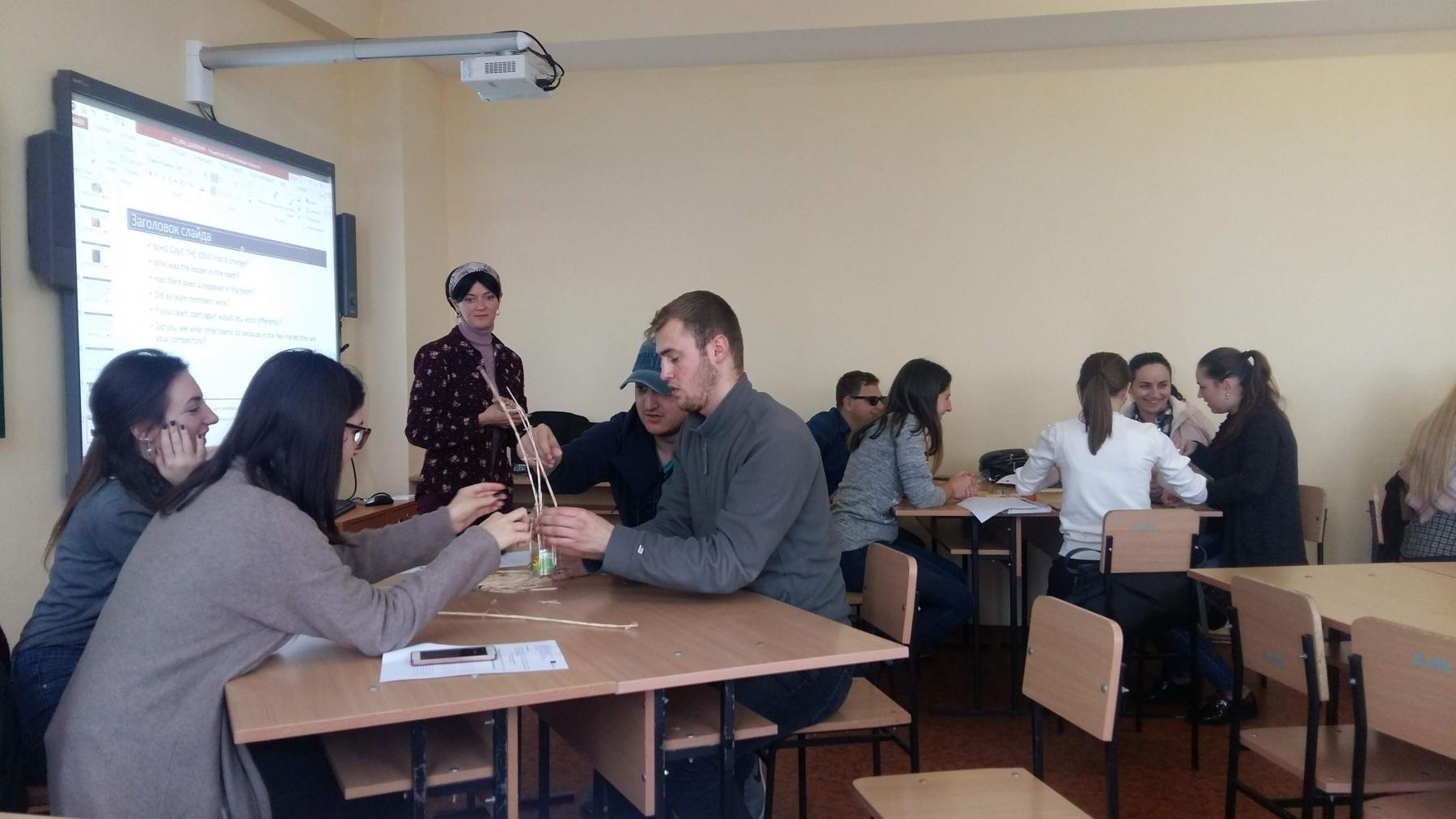 Teaching in Cahul