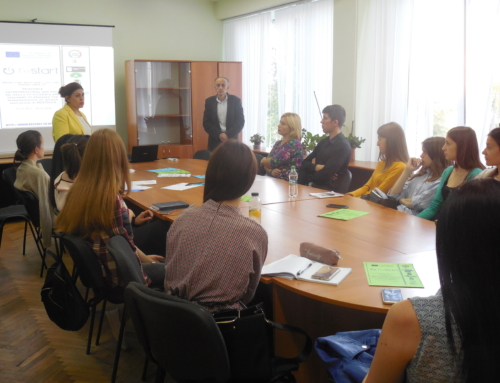 The second Information Session of ReSTART Project took place at the Moldova State University
