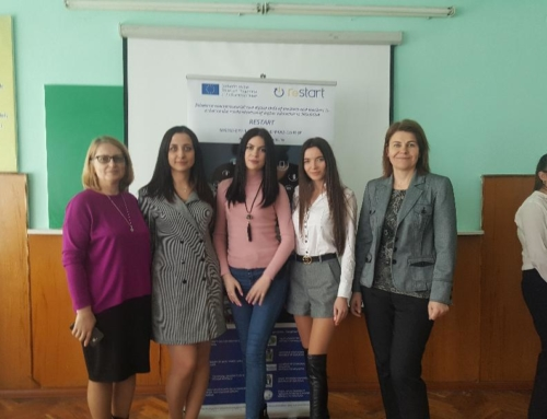 Business competition event for students from Moldavian universities