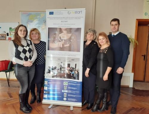 A şasea   sesiune de informare a proiectului RESTART  la Universitatea Agrară de Stat din Moldova