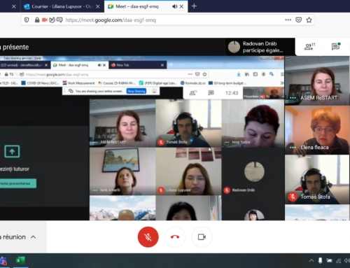 RESTART – Online project management meetings